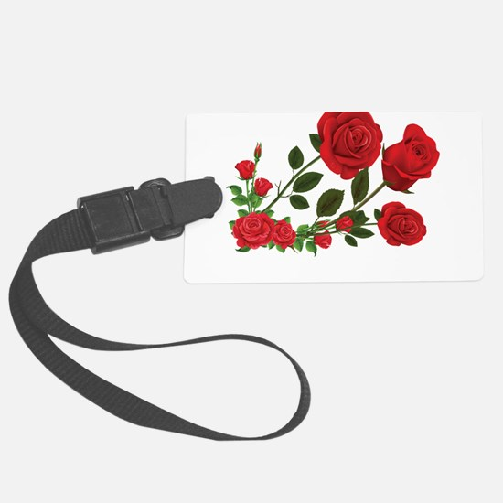 Roses Luggage Tag