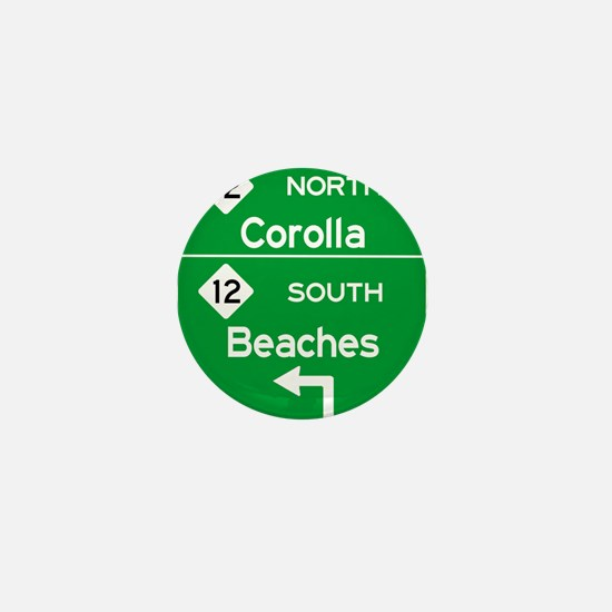 Outer Banks Route 12 Sign Mini Button