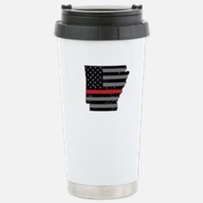 Arkansas Firefighter Th Stainless Steel Travel Mug