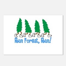 Run Forest Run Postcards (Package of 8)