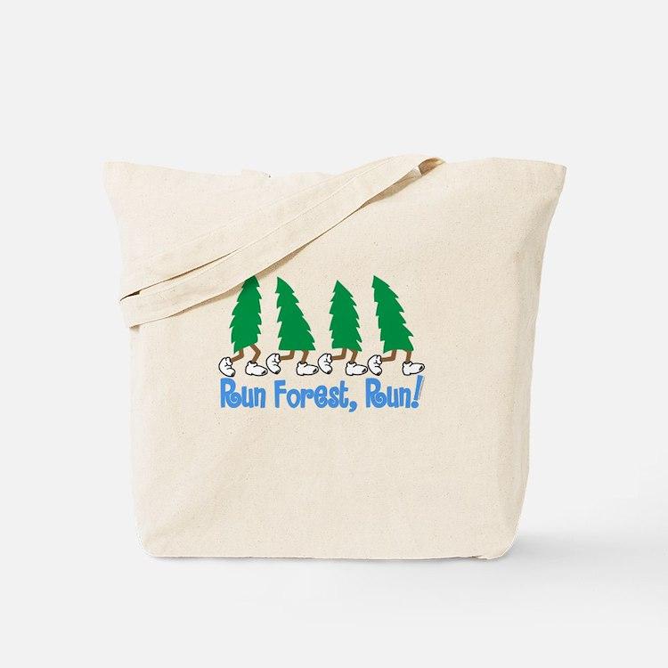 Run Forest Run Tote Bag