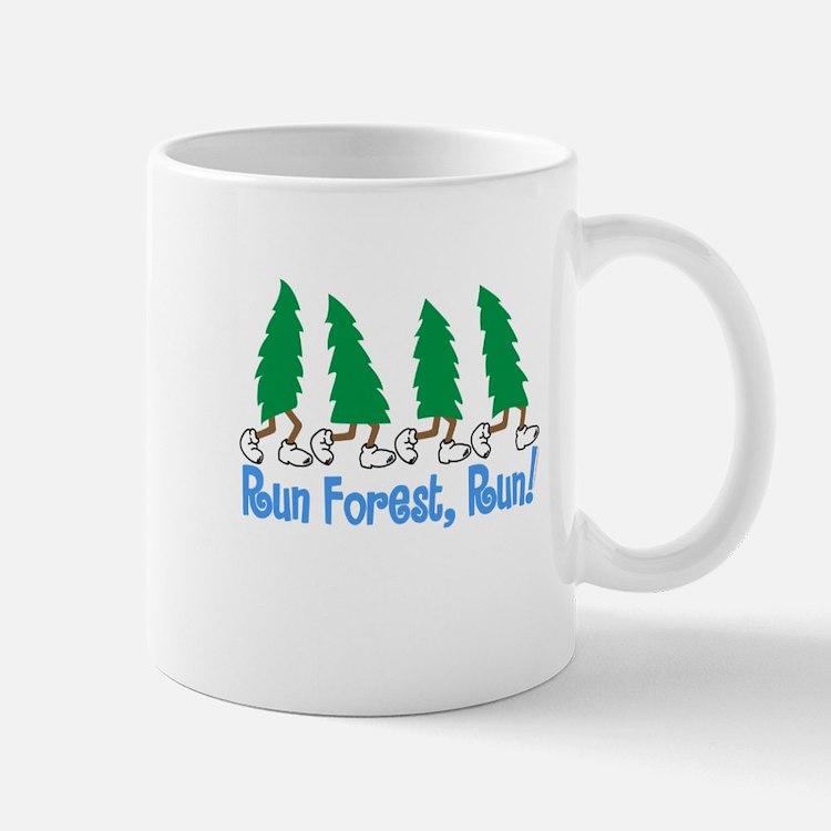 Run Forest Run Mugs