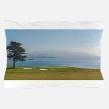 18th Green Pebble Beach Pillow Case