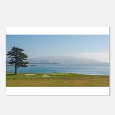 18th Green Pebble Beach Postcards (Package of 8)