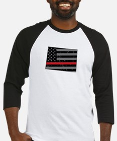 Colorado Firefighter Thin Red Line Baseball Jersey