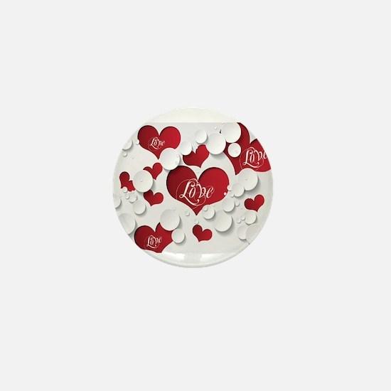 Romantic Love Mini Button