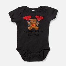 Cool Grandpa loves me Baby Bodysuit