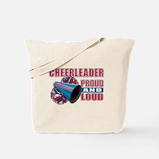 Cheerleader Proud & Loud Tote Bag