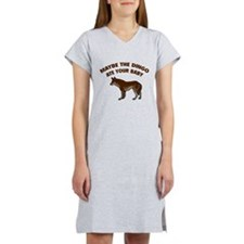Funny Dingoes ate my baby Women's Nightshirt