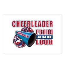 Cheerleader Proud & Loud Postcards (Package of 8)