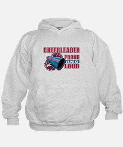Cheerleader Proud & Loud Hoodie