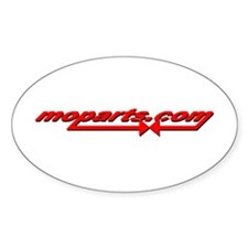 moparts Oval Decal
