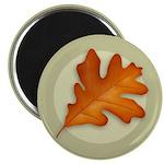 """White Oak Leaf 2.25"""" Magnet (100 pack)"""