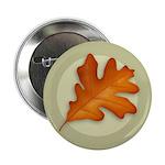 "White Oak Leaf 2.25"" Button (100 pack)"