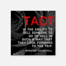 Tact Quote Sticker
