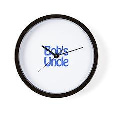 Bob's Uncle Wall Clock