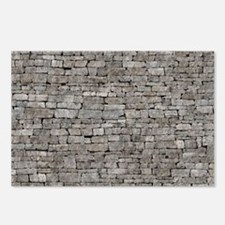 STONE WALL GREY Postcards (Package of 8)
