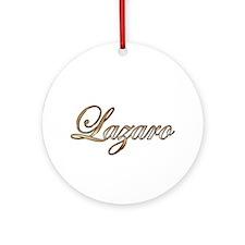Cute Lazaro Round Ornament