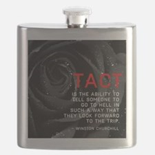 Tact Quote Flask