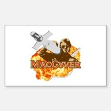 MacGyver In Action Decal