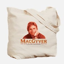MacGyver In Action Tote Bag