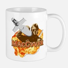 MacGyver In Action Mug
