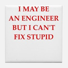 engineer Tile Coaster