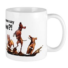 Cute German wirehaired pointer puppies Mug