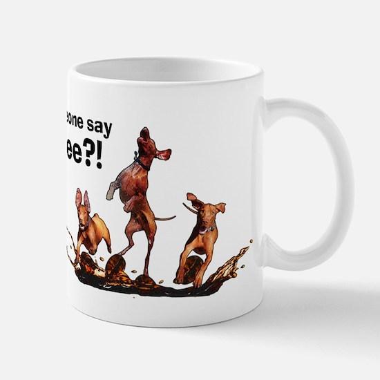 Cute Vizsla dog Mug