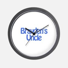 Brayden's Uncle Wall Clock