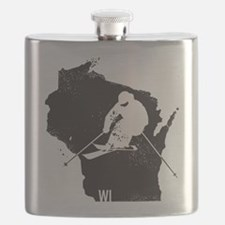 Ski Wisconsin Flask