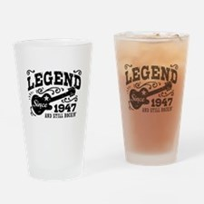 Legend Since 1947 Drinking Glass