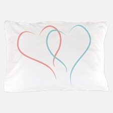 Twin Hearts™ by Leslie Harlow Pillow Case