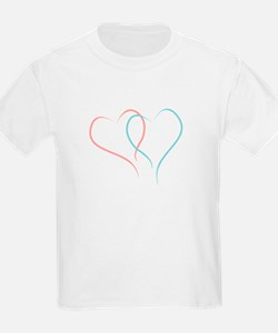 Twin Hearts™ by Leslie Harlow T-Shirt