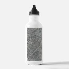 SILVER TRAVERTINE Water Bottle