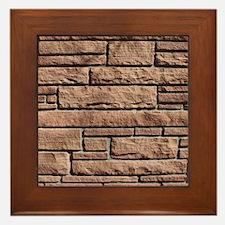 SANDSTONE BRICK Framed Tile