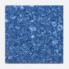 MARBLE BLUE Tile Coaster
