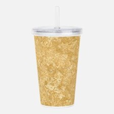 NOCE TRAVERTINE Acrylic Double-wall Tumbler