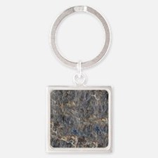 RUSTY STONE Square Keychain
