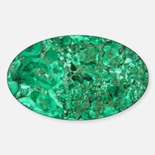 MARBLE GREEN Sticker (Oval)
