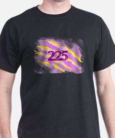 Cat Claw Camouflage Area Code 225 T-Shirt