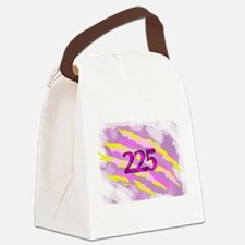 Cat Claw Camouflage Area Code 225 Canvas Lunch Bag
