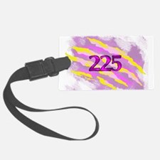 Cat Claw Camouflage Area Code 22 Luggage Tag