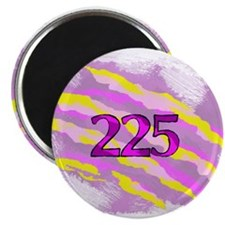 Cat Claw Camouflage Area Code 225 Magnets