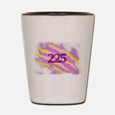 Cat Claw Camouflage Area Code 225 Shot Glass