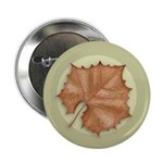 "Sycamore Leaf 2.25"" Button (100 pack)"