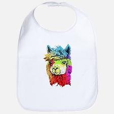 Color Me Alpaca Bib