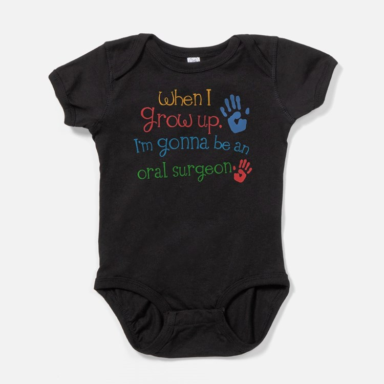 Cute Oral surgeon Baby Bodysuit