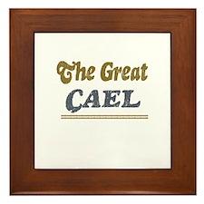 Cael Framed Tile