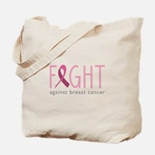 Fight Breast Cancer Tote Bag